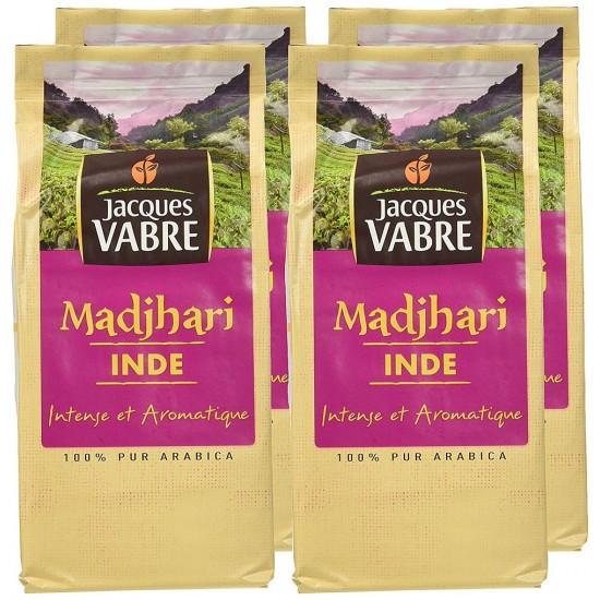 Cafea macinata Jacques Vabre Madjhari India - 250 gr