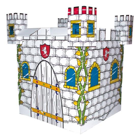 Cort de joaca - Deseneaza castelul - Bino