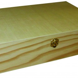 Cutie din lemn pentru ceai cu 12 compartimente