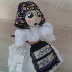 Decoratiune handmade cu lavanda - romancuta