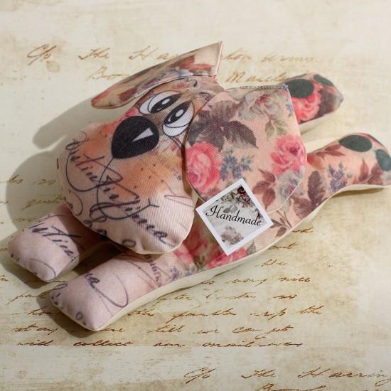Decoratiune handmade cu lavanda - catel