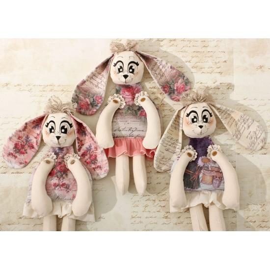 Decoratiune handmade cu lavanda - iepuras