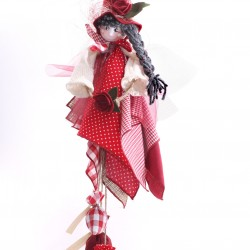 Decoratiune handmade cu lavanda - zanuta din padure