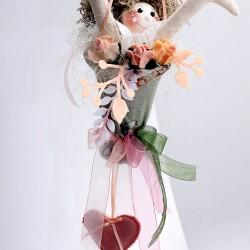 Decoratiune handmade cu lavanda - zapacita de amor