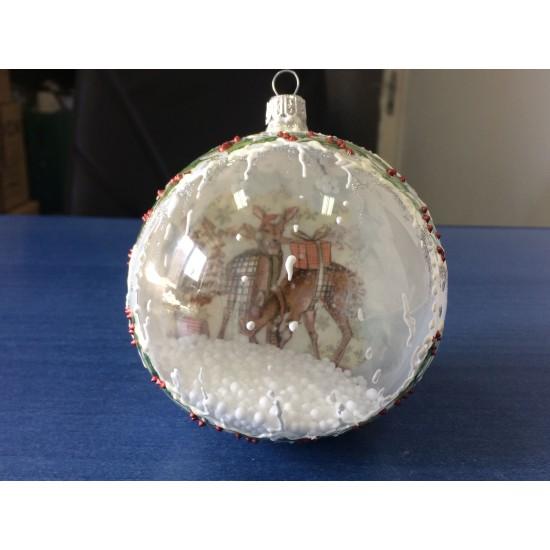 Decoratiune handmade - glob