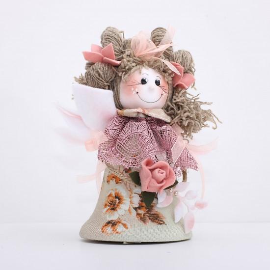 Decoratiune handmade - ingeras clopot