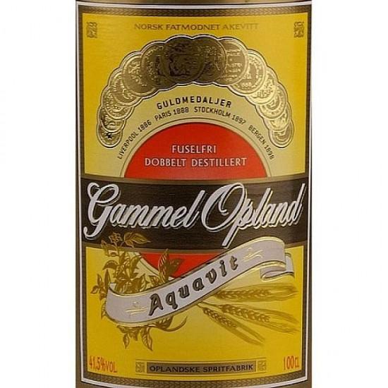 Gamel Opland Aquavit - 70 cl