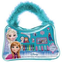 Gentuta mea creativa cu 100 de accesorii Disney Frozen - D'Arpeje