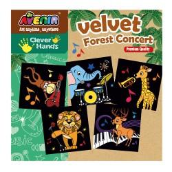 Imagini de colorat - Concertul din padure - Avenir