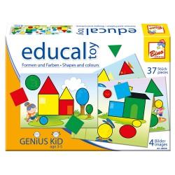Joc educativ - Forme si culori - Bino
