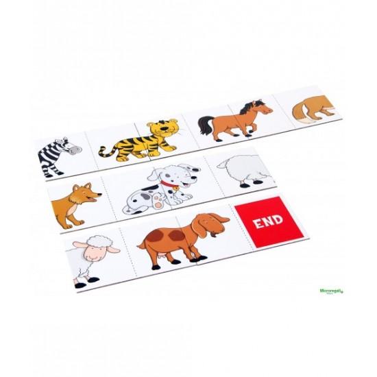 Joc educativ - Lantul animalelor - Bino