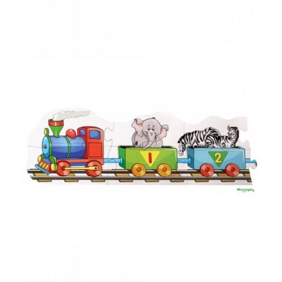 Joc educativ - Trenul cu numere - Bino