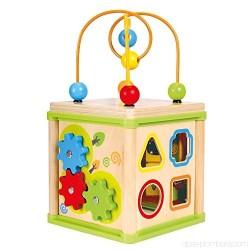 Jucarie dexteritate - Cub educational 5 în 1 - Bino