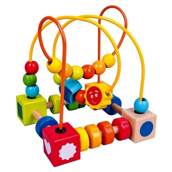 Jucarie dexteritate - Cub educational cu activitati - Bino
