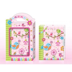 Jurnal cu lacat in cutie cadou - Bino