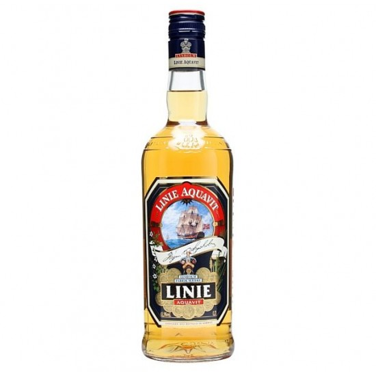 Linie Aquavit Lysholm - 100 cl