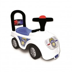 Masina de politie cu claxon si telefon Funbee - D`Arpeje