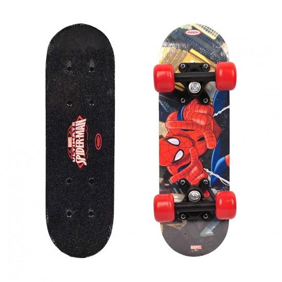 Mini - skateboard din lemn Spiderman - D`Arpeje