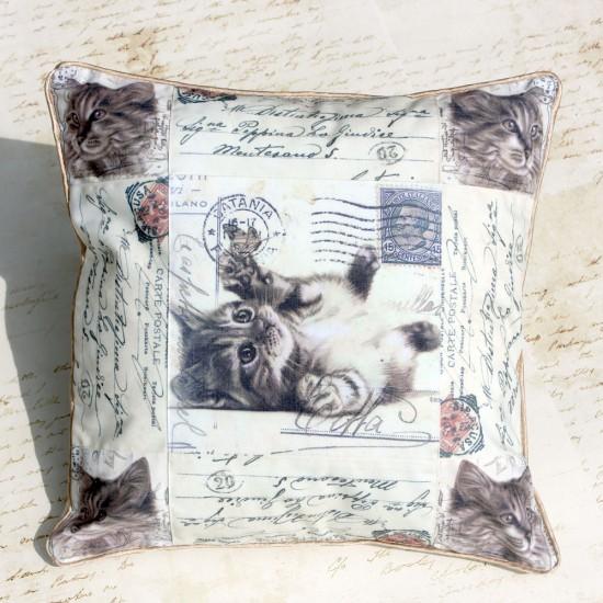 Perna decorativa cu lavanda – Pisicuta