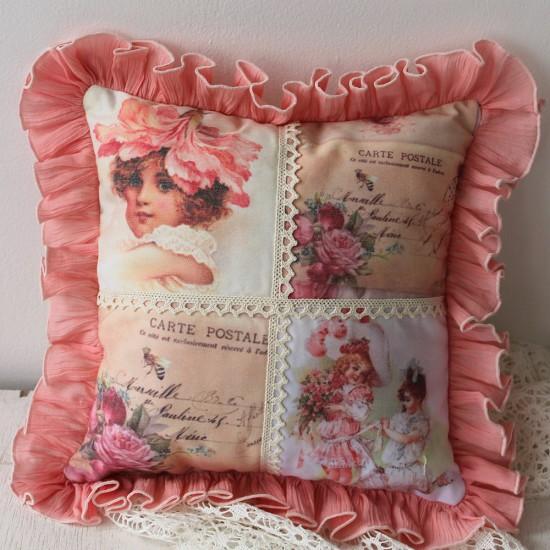 Perna decorativa cu lavanda – Vintage 1