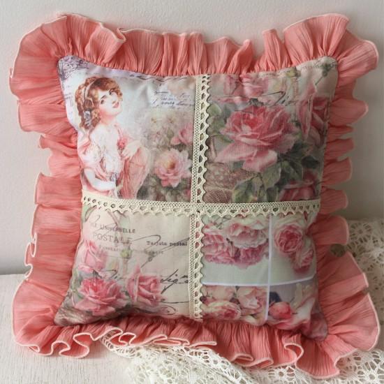 Perna decorativa cu lavanda – Vintage 2