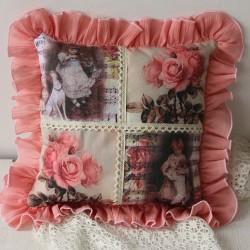 Perna decorativa cu lavanda – Vintage 3