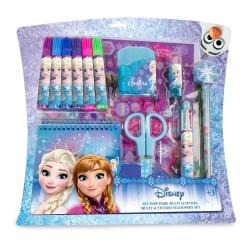 Set cadou cu 15 accesorii creative Disney Frozen - D'Arpeje