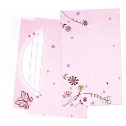 Set cadou - jurnal cu accesorii Fluturasi - Bino
