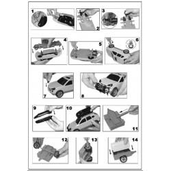 Set constructie Masina cu remorca - 45 piese - Polesie Wader