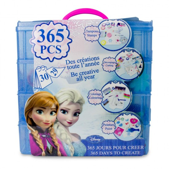 Set creativ Disney Frozen  - 365 de zile de creatie - D'Arpeje