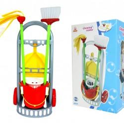 Set de curatenie complet pentru copii - Polesie Wader