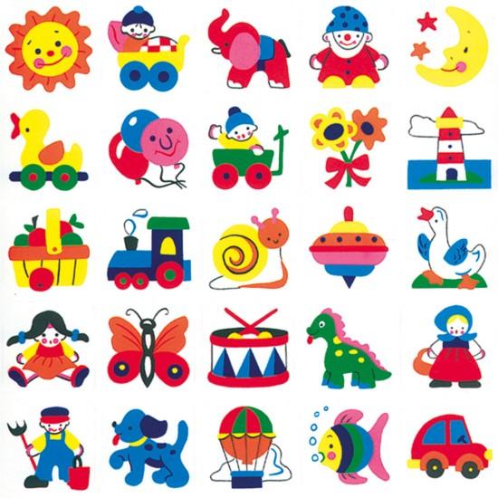 Stickere decorative pentru copii 1 - Bino