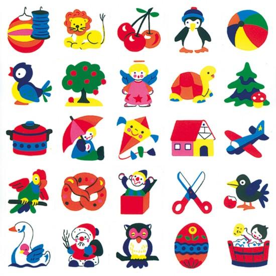 Stickere decorative pentru copii 2 - Bino