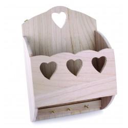 Suport din lemn pentru chei si scrisori
