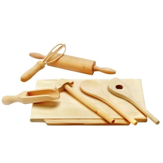Ustensile din lemn pentru copt - Bino