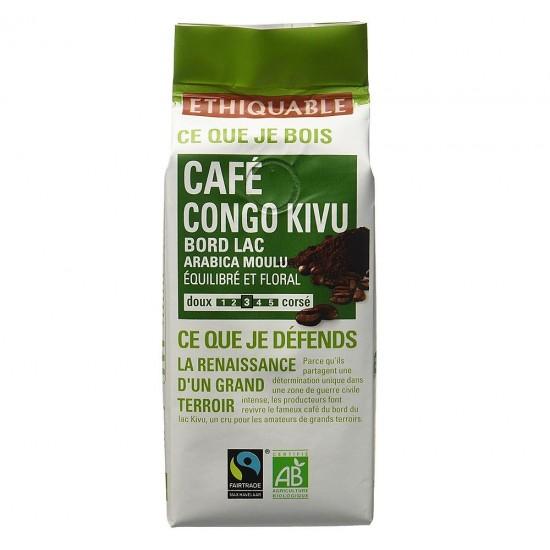 Cafea macinata Ethiquable Congo Kivu Bio - 250 gr