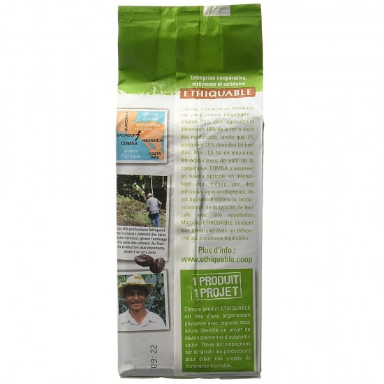 Cafea macinata Ethiquable Honduras Bio - 250 gr