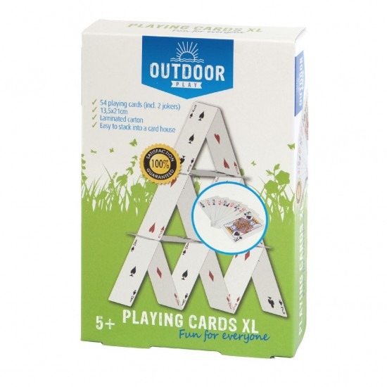 Joc de exterior - joc de carti XL (gigant) - Outdoor Play