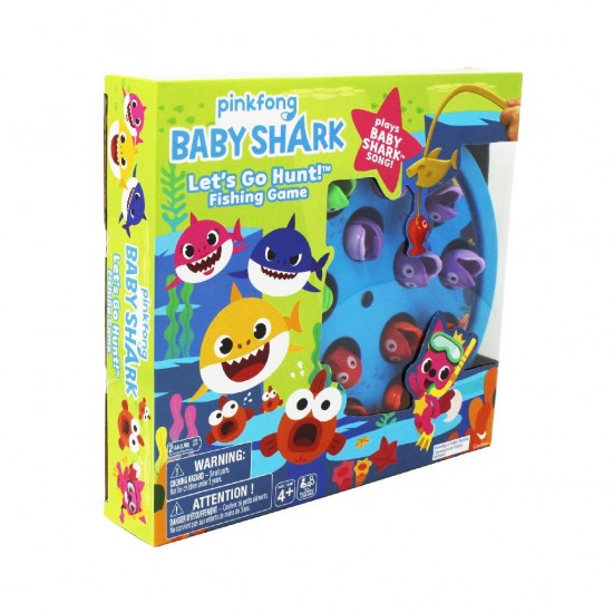 Joc de pescuit, cu melodia Baby Shark