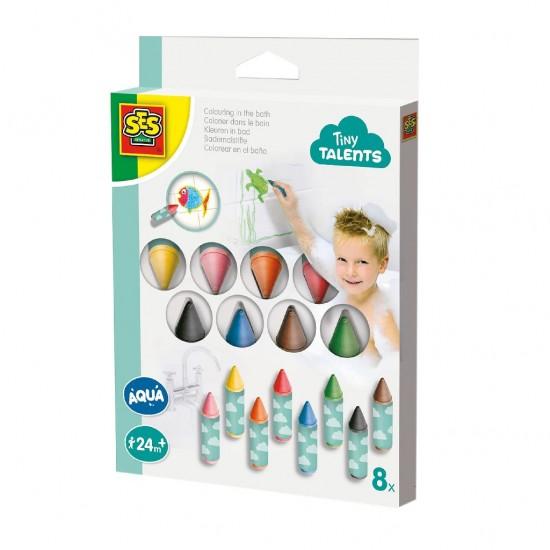 Set 8 creioane colorate pentru baie si gresie - Ses Creative