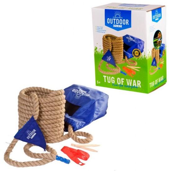 Sfoara rezistenta pentru jocul trage sfoara Tug of War, 10 m lungime