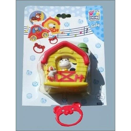 Jucarie muzicala pentru bebelusi - Vacuta