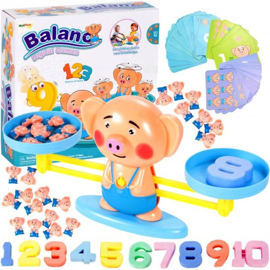 Balanta educationala - Invatam numerele - MalPlay