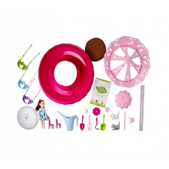 Carusel magic cu sunete si accesorii - Cresterea plantelor - MalPlay