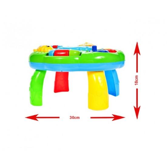 Masuta educationala - Centru de activitati 6 in 1 - MalPlay