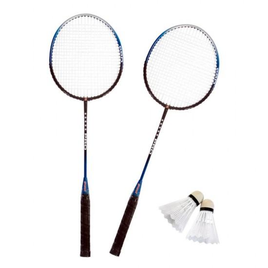 Set badminton 2 rachete şi 2 fluturasi - SportX Pro****