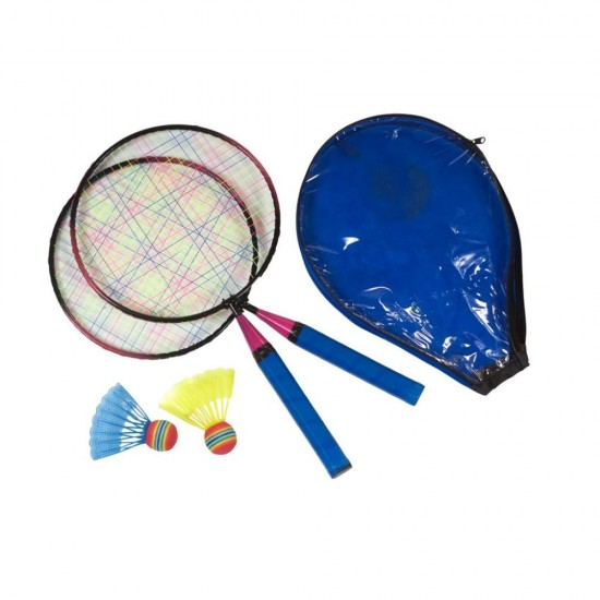 Set mini badminton copii 2 rachete si 2 fluturasi - SportX***