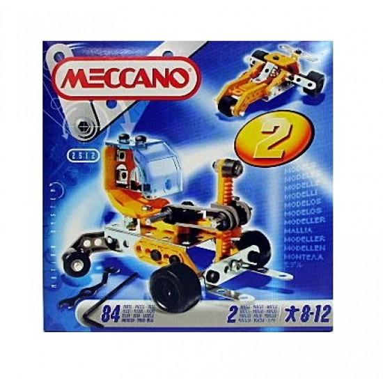 Set constructie 2 in 1 - Buggy, 84 piese - Meccano
