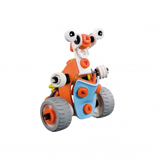 Set constructie 3 in 1 Meccano Build & Play - Tractor, 63 piese