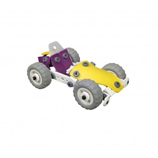 Set construcţie 4 în 1 Meccano Build & Play - ATV, 99 piese
